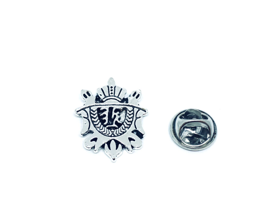 Silver plated Military Lapel Pin
