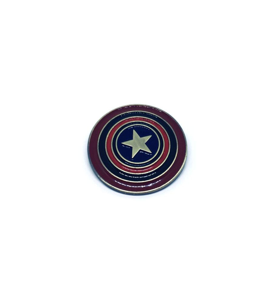 Captain America Movie Brooch Pin