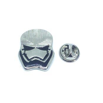 Enamel Helmet Lapel Pin