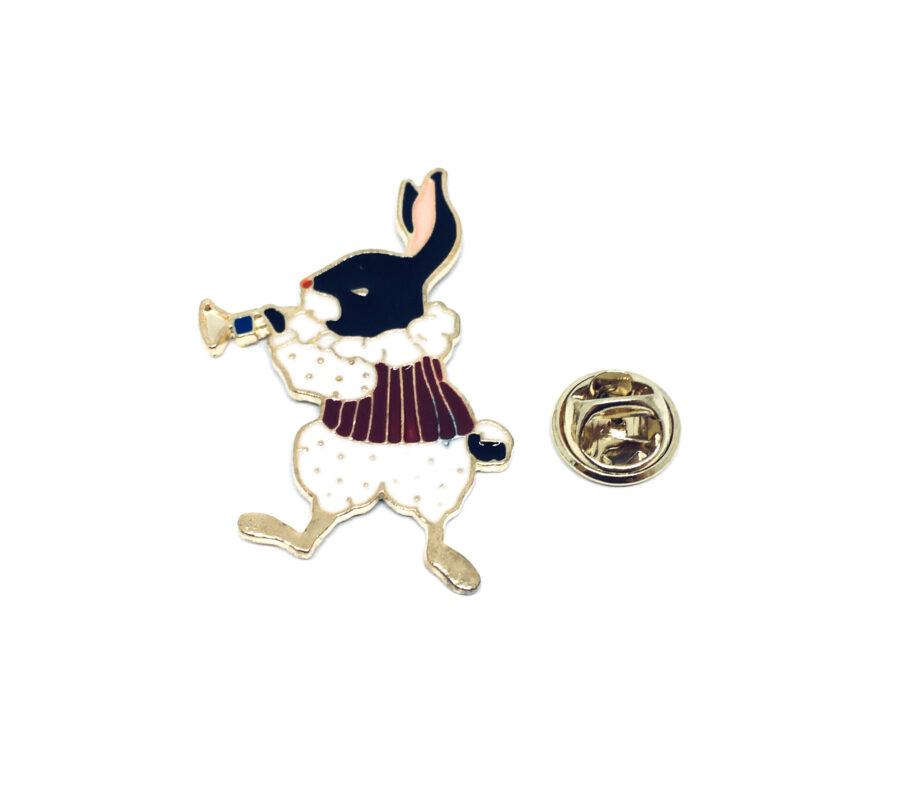 Rabbit Enamel Pin