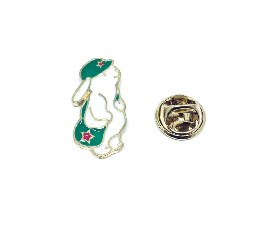 Rabbit Lapel Pin