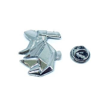 Silver plated Rabbit Pin