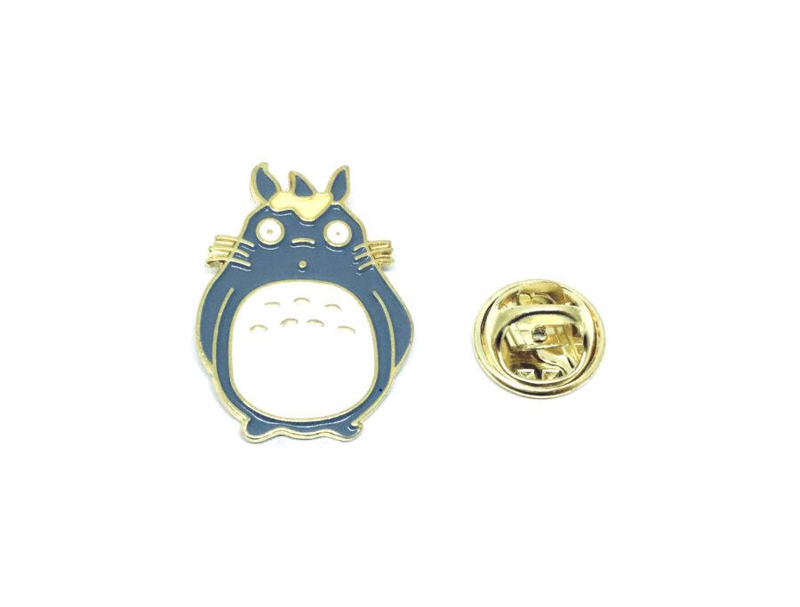 Gold tone Enamel Rabbit Pin