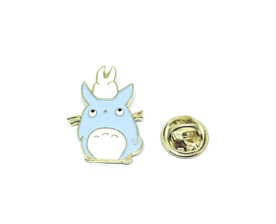 Gold plated Enamel Rabbit Lapel Pin