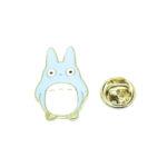 Gold tone Enamel Rabbit Lapel Pin
