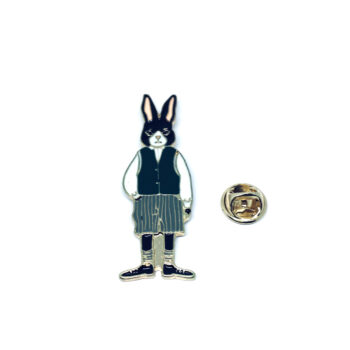 Gold plated Rabbit Pin