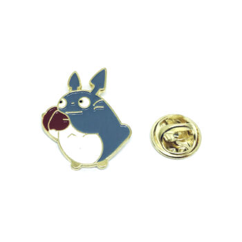 Gold plated Rabbit Lapel Pin