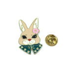 Rabbit Gold plated Pins