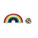 Rainbow Enamel Lapel Pin