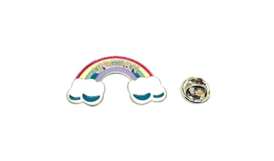 Unicorn Rainbow Lapel Pin