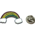 Gold plated Rainbow Pin