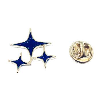 Three Stars Lapel Pin