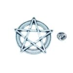 Silver plated Star Pin