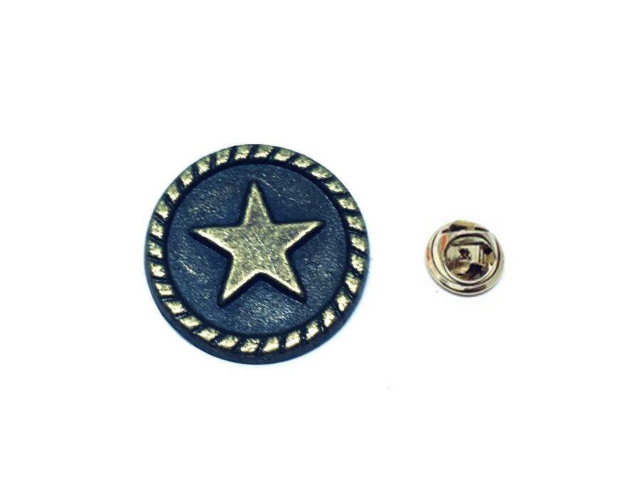 Antique Star Lapel Pin