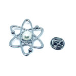 Silver tone Star Pin