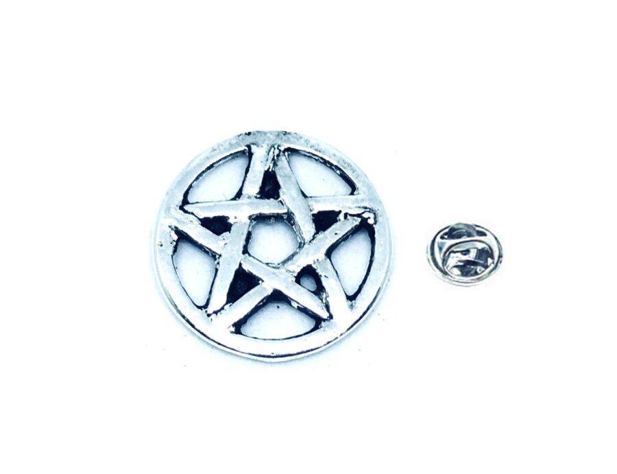 Silver platting Star Pin