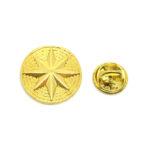 Gold tone Star Pin