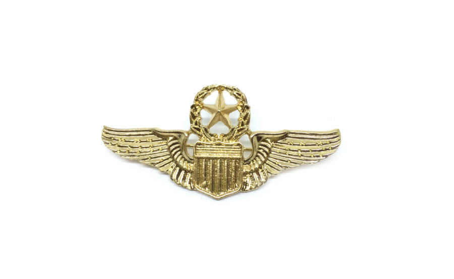 Gold plated Star Brooch Pin