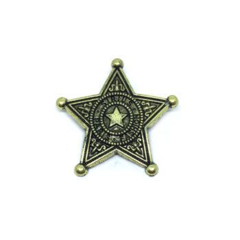 Antique Star Brooch Pin