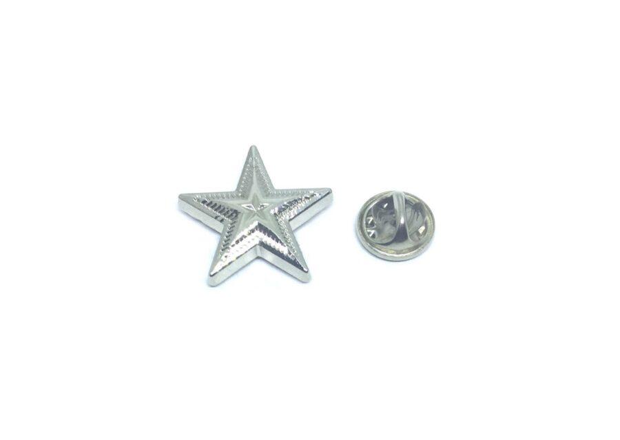 Plain Star Lapel Pin