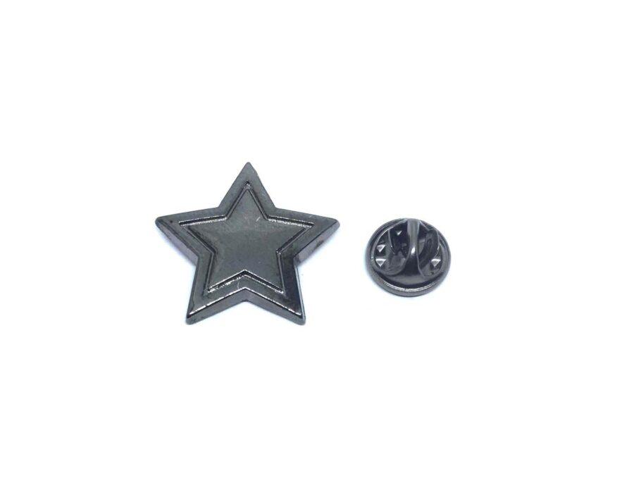 Plain Antique Star Lapel Pin