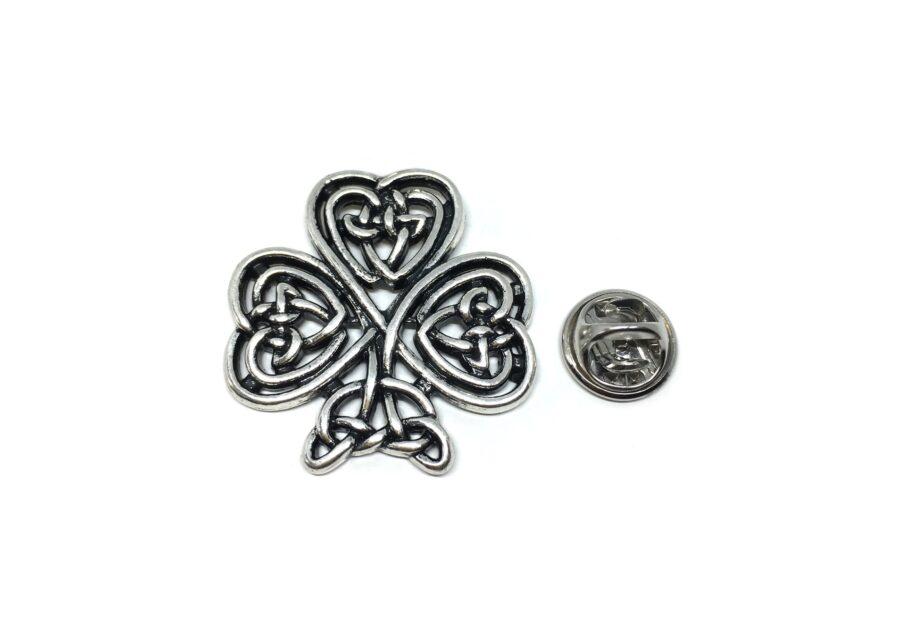 Celtic Shamrock Lapel Pin