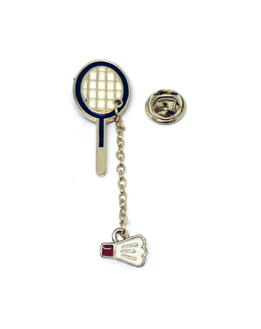 Table Tennis Sport Pin