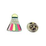 Badminton Sport Pin