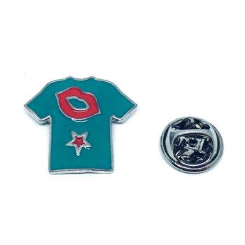 Soccer T-shirt Sport Pin