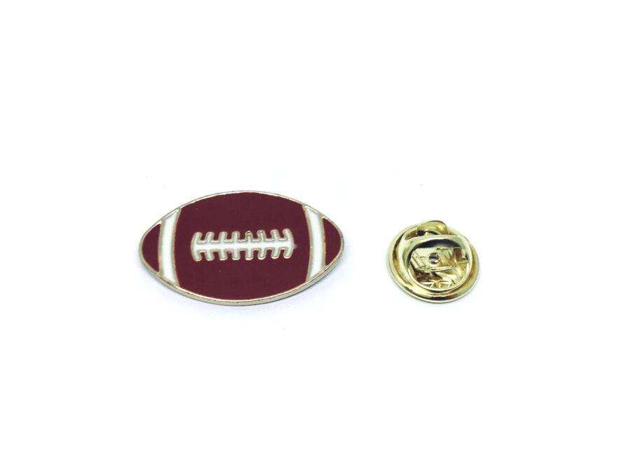 Football Sports Lapel Pin