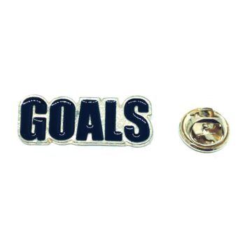 Enamel Goal Sport Pin