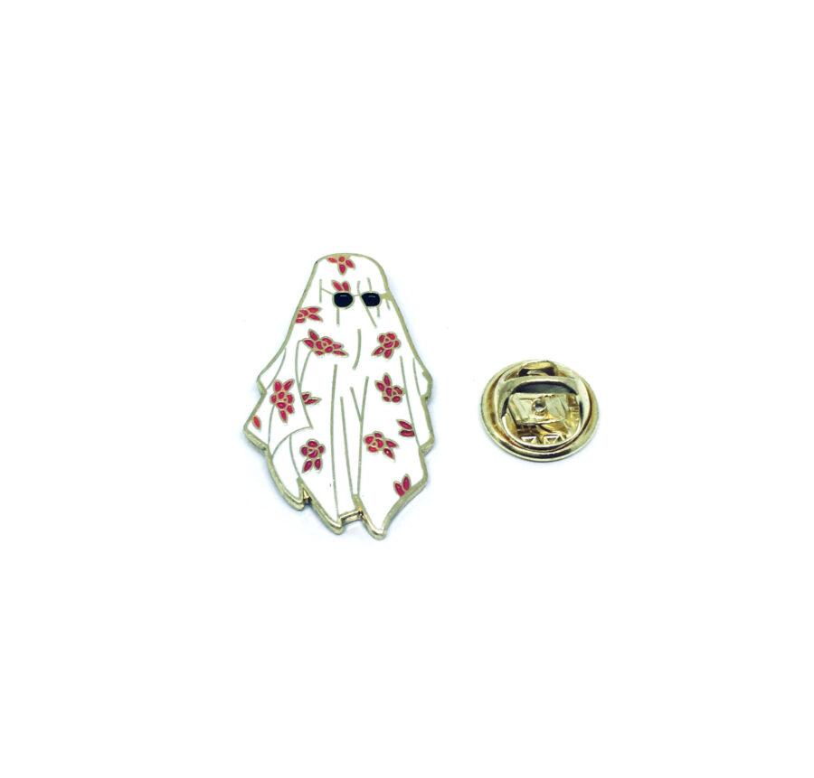 Space Enamel Lapel Pin