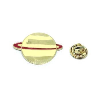 Saturn Space Lapel Pin