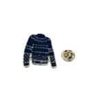 Space Shirt Lapel Pin