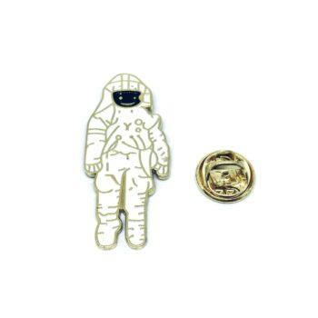 Spacesuit Lapel Pin