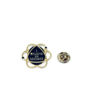 I Believe in Science Space Lapel Pin