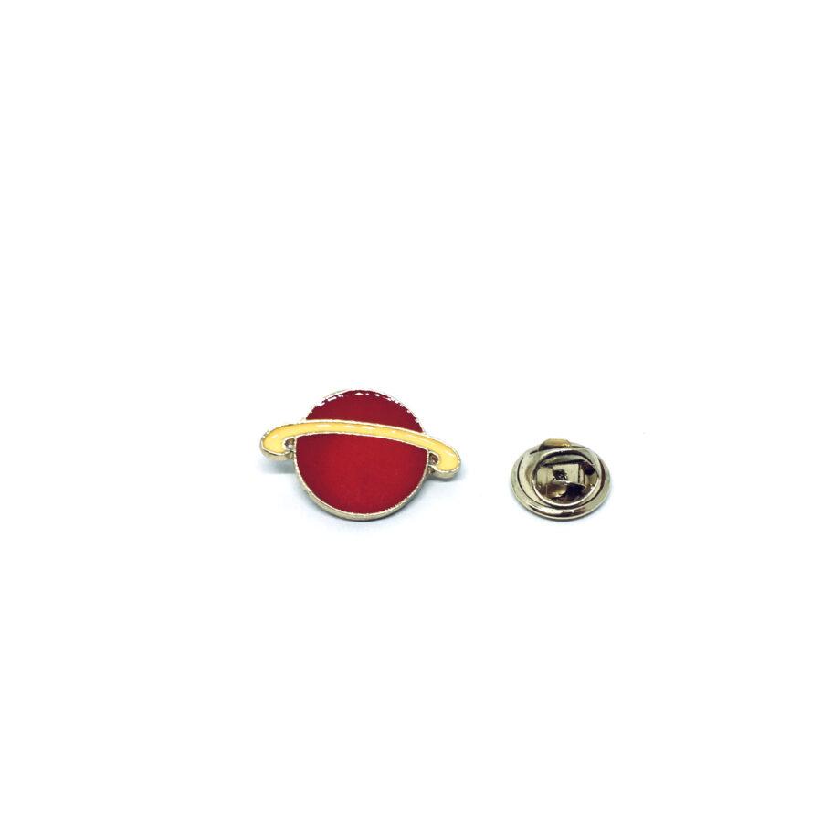 Saturn ring Space Lapel Pin