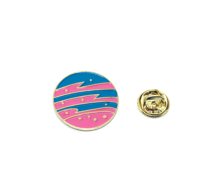 Space Planet Pin
