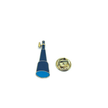 Telescope Space Lapel Pin