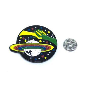 Planet Lapel Pin