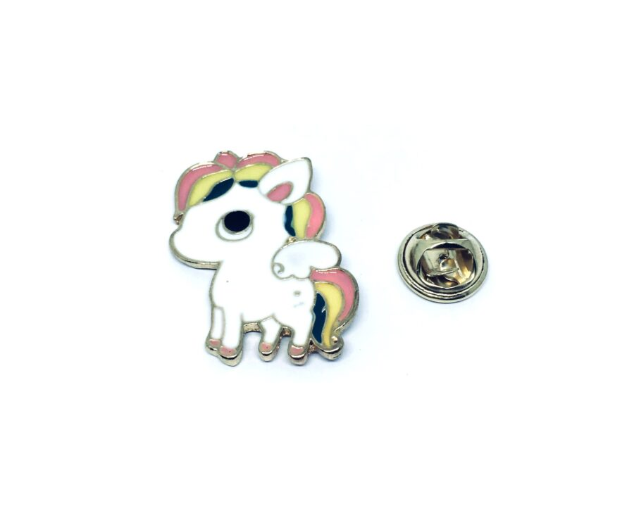 Unicorn Enamel Lapel Pin