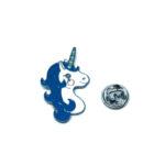 Silver plated Unicorn Lapel Pin