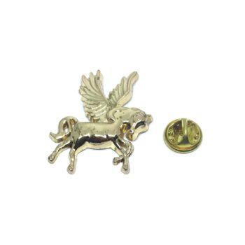 Gold tone Unicorn Lapel Pin