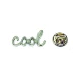 Cool Word Lapel Pin
