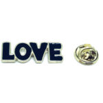 Love Word Lapel Pin
