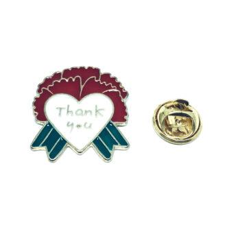 Thank you Word Lapel Pin