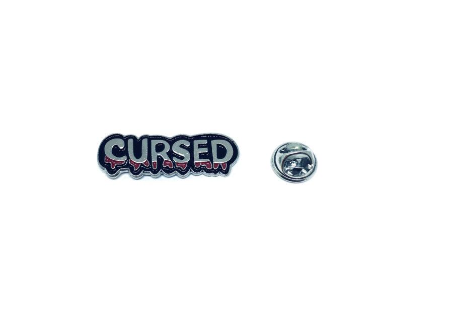 Cursed Word Lapel Pin