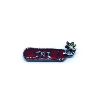 TNT Word Lapel Pin