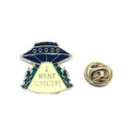 Want to Believe Word Lapel Pin
