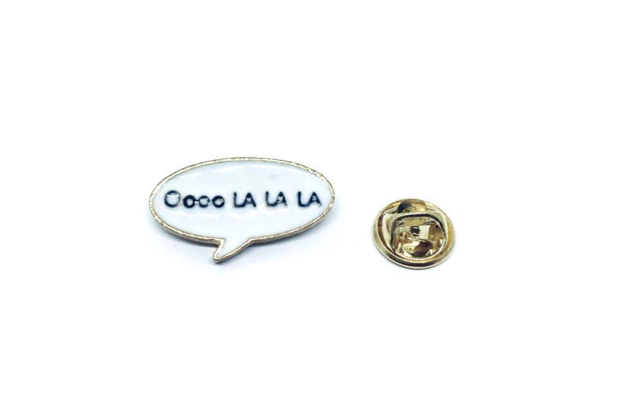 Ooo La La Word Lapel Pin